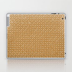 Tan/Orange Pattern Laptop & iPad Skin