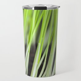 green sprouts of cereals Travel Mug