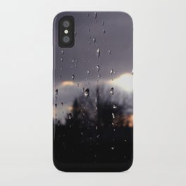 just like raindrops iPhone Case