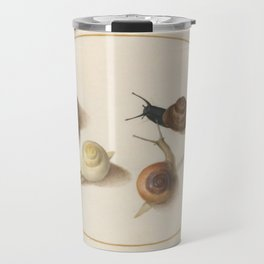 Naturalist Snails Travel Mug