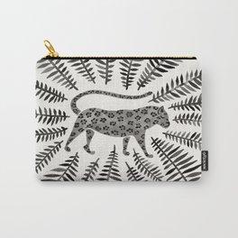 Black Jaguar Carry-All Pouch