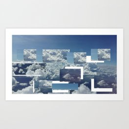 alternative sky Art Print