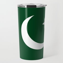 The National Flag of Pakistan - Authentic Version Travel Mug