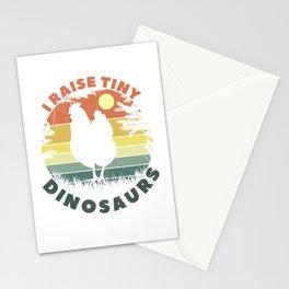 I Raise Tiny Dinosaurs Stationery Cards