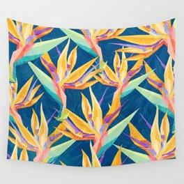 Strelitzia Pattern Wall Tapestry