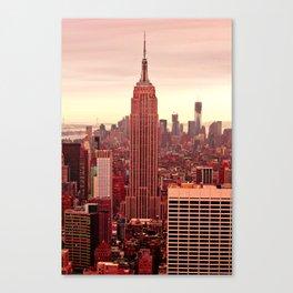 Empire Runs Red Canvas Print