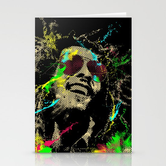 Under the reggae mode Stationery Cards
