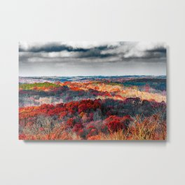 Fall colors from Athens, Ohio Metal Print