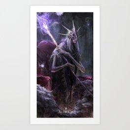 Aldrich - Dark Souls 3 Art Print