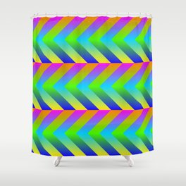 Colorful Gradients Shower Curtain