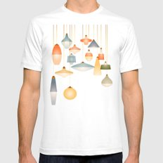 la belle lumière White SMALL Mens Fitted Tee
