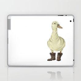 duck in boots  Laptop & iPad Skin