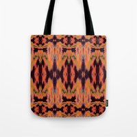 kilim Tote Bags featuring Azra Kilim by Nina May Designs