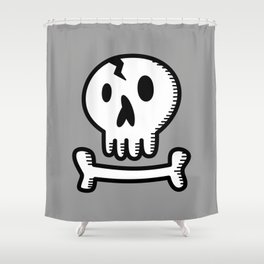 Skull 'N Bones Shower Curtain