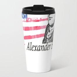 Alexander Hamilton The Musical Travel Mug
