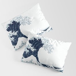 The Great Wave - Halftone Pillow Sham