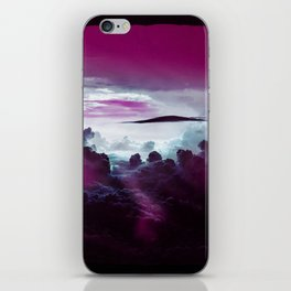 I Want To Believe -Pink iPhone Skin