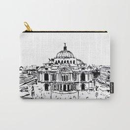 Palacio de Bellas Artes. Vista frontal.  Carry-All Pouch