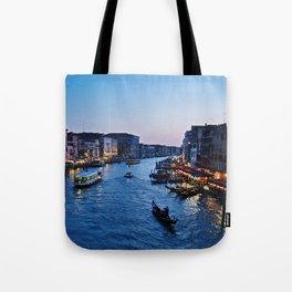 Venice at dusk - Il Gran Canale Tote Bag