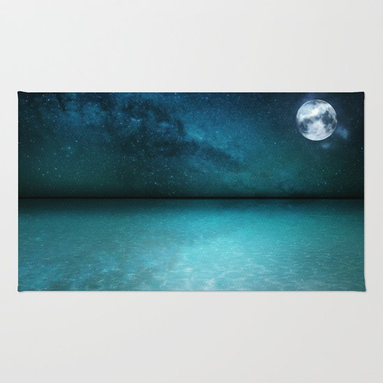 Night Swimming Rug