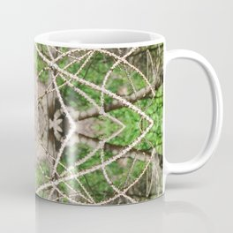 507 - Abstract Forest Design Coffee Mug