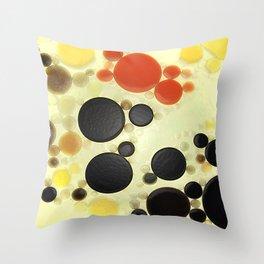 :: Sun Spots :: Throw Pillow