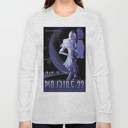 NASA Retro Space Travel Poster #10 PSO J318.5-22 Long Sleeve T-shirt