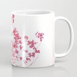 Holga x-processed pink spring tree Coffee Mug