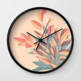 Miraculous Plant Duo Wall Clock