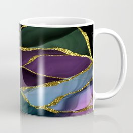 Space Night Marble Landscape Coffee Mug
