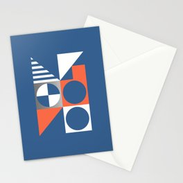 Nautical Geometric 01 Stationery Cards