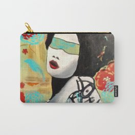 """Color Blind Series  """"Geisha"""" Carry-All Pouch"""