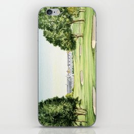 Southern Hills Golf Course 18th Hole iPhone Skin
