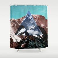 wonderland Shower Curtains featuring Wonderland by Evan Smith
