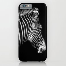 White Stripes Black Stripes iPhone 6s Slim Case