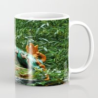 courage Mugs featuring Courage by Anthony M. Davis