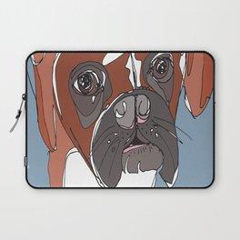 My Sad Boxer Dog Laptop Sleeve