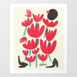 Protect Flowers, Protect Ourselves Art Print