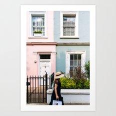 London - Notting Hill Art Print