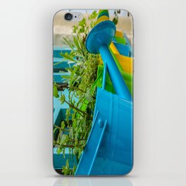 Watering Can Herb Garden iPhone Skin