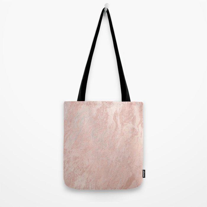 Rose Gold Foil Tote Bag