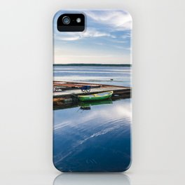 Amazing baltic sea in Haapslau city, Estonia iPhone Case