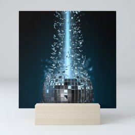 Disco explosion Mini Art Print