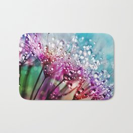 Dewdrops & Rainbows Bath Mat