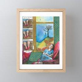 Click your heels Framed Mini Art Print