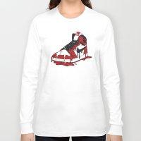 air jordan Long Sleeve T-shirts featuring Air Jordan I by shoooes