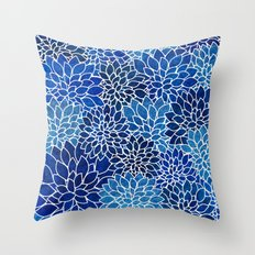 Floral Abstract 14 Throw Pillow