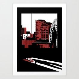 Bad Guys Need Love Too Art Print