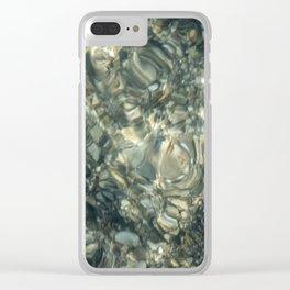 Liquid Texture Clear iPhone Case