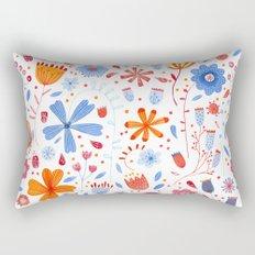 English Meadow Rectangular Pillow